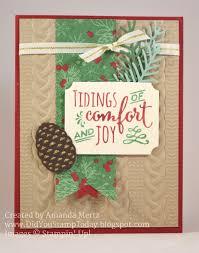did you stamp today comfort u0026 joy christmas stampin u0027 up