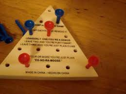 cracker barrel table game how to win at jump all but one game youtube