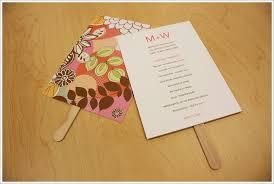 how to make wedding program fans diy program fans here comes the bride pinterest program
