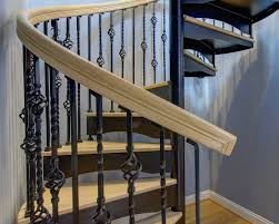 Custom Staircase Design New Spiral Staircase Design With Regard To Custom Stairs In Ct Nyc