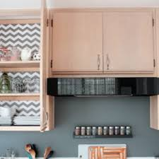 Contact Paper For Kitchen Cabinets Add Bold Contact Paper To Blah - Contact paper kitchen cabinets