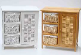 Wicker Shelves Bathroom by Bathroom Cabinets Wicker Bathroom Shelf Bookcase With Baskets