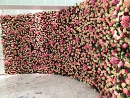 wedding backdrop trends wall of flowers like a pinteres