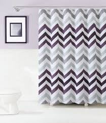 Shower Curtains Purple Fabric Shower Curtain Floral Gray And Purple Color Baroom Decor