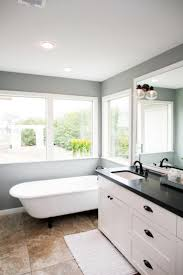 78 best masterful bathrooms images on pinterest pulte homes this master bathroom has black granite countertops with double vanity sinks and a beautiful white