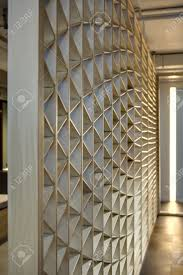 ornamental light wooden partition the ornament consists of