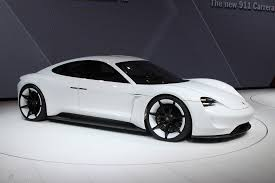 new porsche electric porsche mission e electric tesla killer coming soon pocket lint