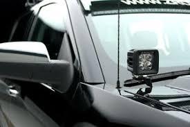 Led Light Bar Mounts Dodge Ram Zroadz Hood Hinge Led Light Bar Mounts For 10 16 Dodge Ram