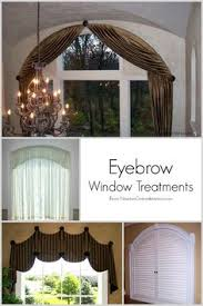 Half Moon Windows Decorating Diy Window Covering For Arch Window For Less That 20 For The