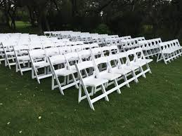rent folding chairs white garden wedding chair rental sky high party rentals