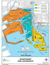 map port port of terminal reps map