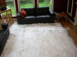 White Skin Rug Kidassia Rugs Or White Goatskin Rugs Or White Goat Rugs Or