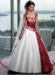 and white wedding dresses interesting fusion i m not sure if i would wear it for an