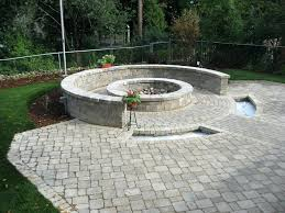 Home Made Firepit Built In Pit Pit Designs International Place
