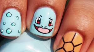 floral nail art nails gallery bulbasaur i heart nail art pokemon