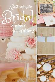 10 last minute bridal shower decoration ideas bridal showers