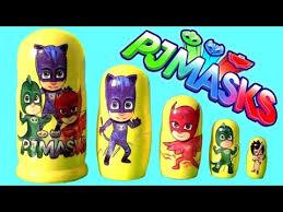 disney pj masks nesting dolls stacking cups surprise toys romeo