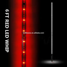 led light whip for atv china new 90cm red whips light bar with flag 108 led atv rzr utv