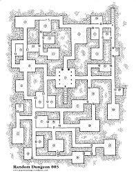 Dungeon Floor Plans by Random Dungeon Map 005 Jasper U0027s Rantings
