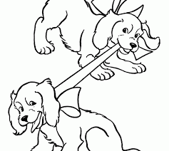 puppy colouring pages printable puppy coloring pages free and