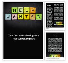 help wanted on blackboard word template 10629 poweredtemplate com