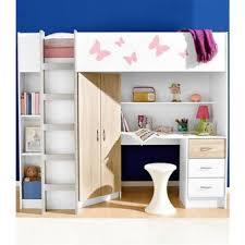 lit mezzanine avec bureau et rangement lit mezzanine avec bureau et armoire lit surlev avec bureau et