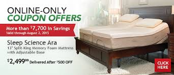 Sleep Science Adjustable Bed Costo New Online Only Coupon Offers Start Today Milled