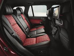 suv range rover interior here u0027s the ultra luxe suv range rover has been saving for a