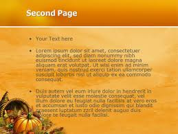 thanksgiving day free powerpoint template backgrounds 02819