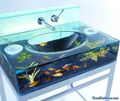 designer bathroom sinks fish bathroom sinks bathware