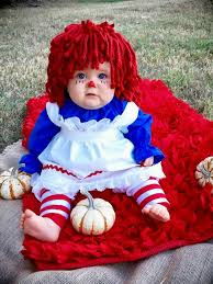 Squirrel Halloween Costume Baby Raggedy Ann Adorable Costumes