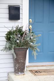 easy outdoor planters for winter modern chemistry at home