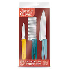 oliver kitchen knives oliver crinkle 3 knife set home store more