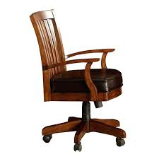 Rolling Office Chair Design Ideas Mission Style Office Chair Desk Craftsman Executive Inside