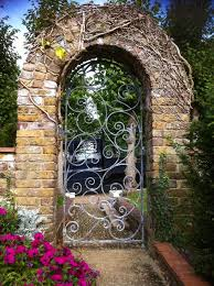 garden gate ideas exterior traditional with iron gate iron gate