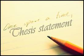 Thesis Statement Examples ThesisMeister