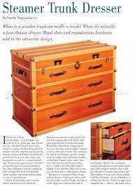 Wood Filing Cabinet Plans by Steamer Trunk Dresser Plans U2022 Woodarchivist