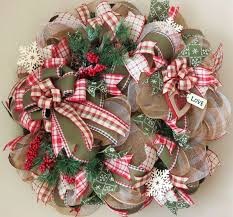 christmas mesh wreaths 1973 best christmas deco mesh wreaths images on