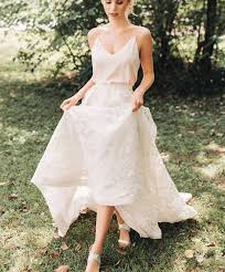 wedding tops 10 gorgeous two wedding dresses that arent crop tops two