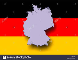 Germany Map by Map Germany Stock Photos U0026 Map Germany Stock Images Alamy