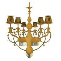 Chandelier Shapes Chandeliers Mdf Wood Shapes