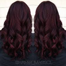 mahogany red hair with high lights it s all the rage mahogany hair color dark burgundy hair