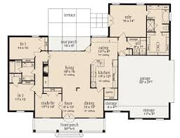 House Plan 56342 At Familyhomeplans Com 2000 Sq Ft House Plans