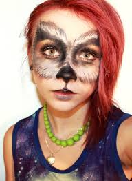 leopard halloween makeup ideas 15 ideas about wolf halloween makeup u0026 tutorial wolf makeup