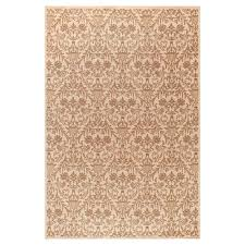 Concord Global Area Rugs Concord Global Trading Damask Ivory 6 Ft 7 In X 9 Ft 3 In