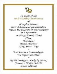 Golden Wedding Invitation Cards 100 Invitation Matter For 50th Wedding Anniversary Best 25