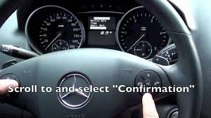 2005 2011 mercedes ml maintenance light reset youtube