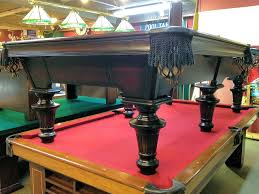 olhausen pool table legs sold pre owned olhausen innsbruck 6 leg 9ft loria awards