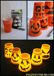 halloween dixie cups halloween cup decorations paging fun mums