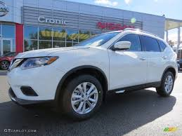 2014 moonlight white nissan rogue sv awd 90335194 gtcarlot com